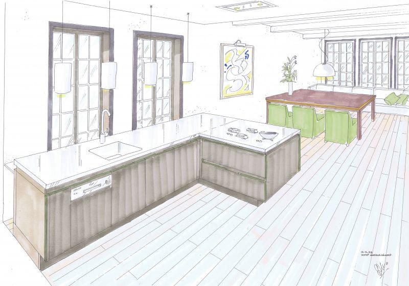 Ontwerpen vorm interieurontwerp for Interieurontwerp