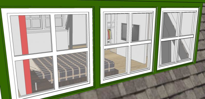 Ontwerpen vorm interieurontwerp - Slaapkamer met doucheruimte ...