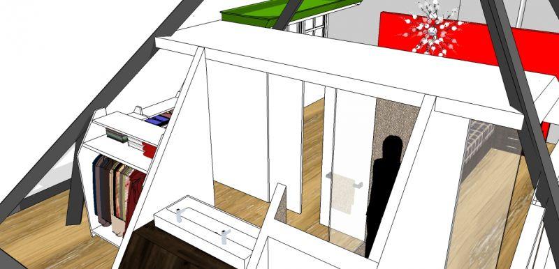 Kleuradvies praktijkruimte stijl in appletree stijlinstijlstijlinstijl luik overloop - Slaapkamer met doucheruimte ...